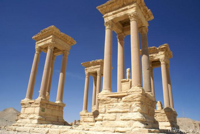 シリア パルミラ遺跡, Syria Parmira