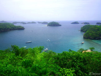 Hundred Islands National Park in Philippines