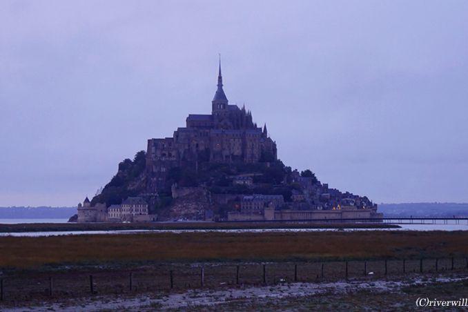 """これが""""西洋の驚異""""か!!フランスの至宝モンサンミッシェル<p>"""