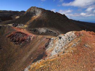 ガラパゴス シエラ・ネグラ火山 Galapagos SierraNegraVolcano