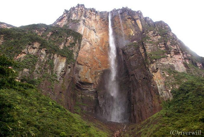 べエネズエラ ギアナ高地 エンジェルフォール Venezuela Guyana Angel Fall