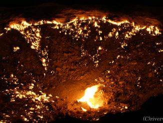 地球の鼓動が感じられる絶景 Burning on earth
