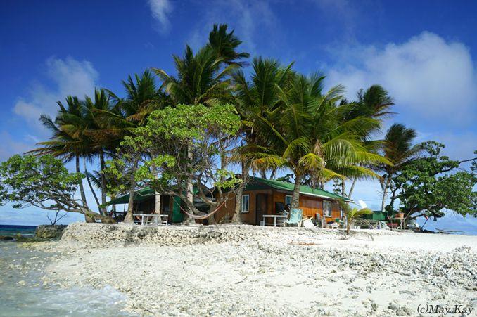 絶海の孤島の小さな楽園!癒しと虹に包まれた南の島「ジープ島」