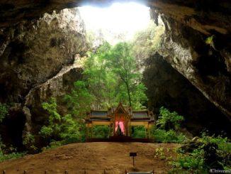 タイ ホアヒン クーハーカルハット宮殿 Thailand Hua Hin PurayaNakonCave