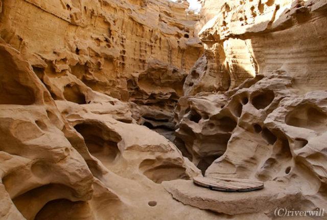 Iran Queshm Chah-kooh Gorge イラン ゲシュム島 チャークー渓谷