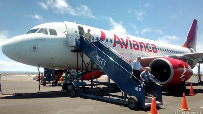 ガラパゴス Avianca航空 Galapagos Avianca