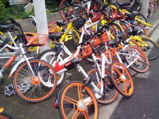中国 自転車シェアリング mobike 摩拜单车