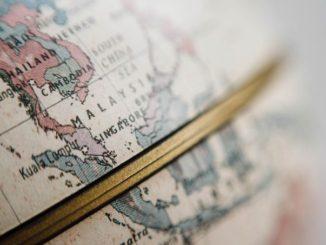 わたしの世界一周マップ My Round-the-world-trip-Map