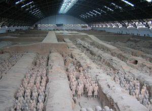 中国 秦の始皇帝陵 China Xi'an