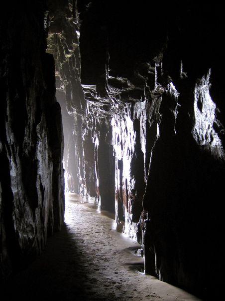 ニュージーランド カセドラル・ケイブ New Zealand Cathedral Caves