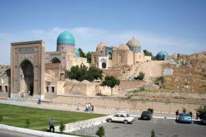 ウズベキスタン シャーヒ・ズィンダ廟群 Shah-i-Zinda