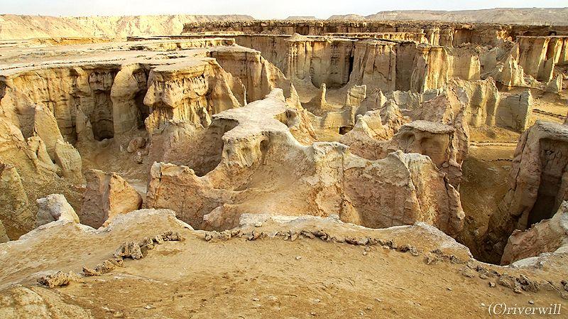 イランにカッパドキア?! ゲシュム島の自然の要塞「スター・バレー」