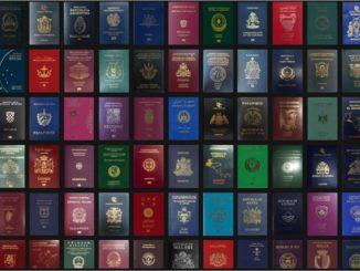 パスポートランキング PASSPORT INDEX RANKING