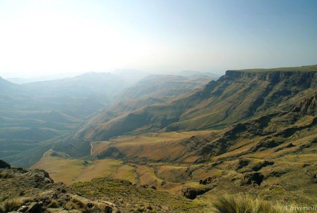 Lesotho Sani Pass レソト サニ・パス