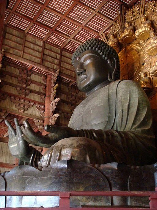 奈良 東大寺大仏 Nara Todaiji Daibutsu