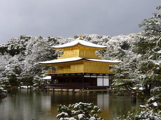 京都 金閣寺 鹿苑寺 Kinkaku-ji