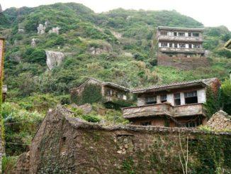 中国 枸杞島 嵊泗列島 後頭湾村 China Houtouwan village guoqi island
