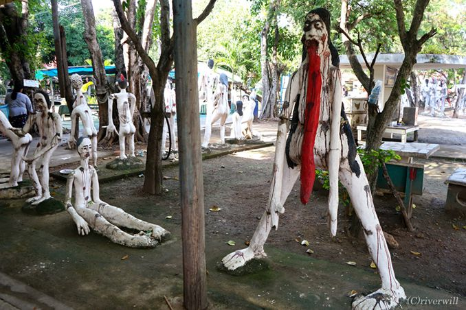 【閲覧注意】地獄の沙汰もここまでやるか!常軌を逸したタイ最恐の地獄寺「ワット・パイロンウア」
