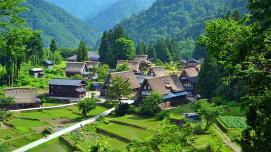21 五箇山 合掌の里(富山) Japan's 34 most beautiful places