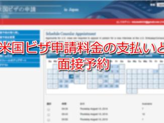 USAビザ オンライン申請 面接予約 VISA Online Application Interview