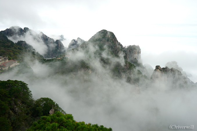 中国 黄山 世界遺産 China Huangshan World Heritage