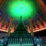 何これCG?極彩色のバンコク寺院「ワット・パクナム」Wat Paknam, Bangkok