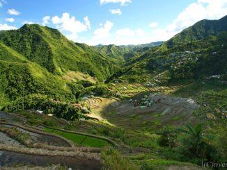フィリピン バナウェ コルディリエーラの棚田群 Philippines Banaue Cordilleras Rice Terraces