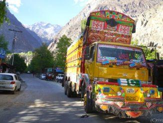 カラコルムハイウェイ パキスタン Karakoram Highway